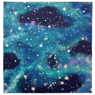 Nebulosa y estrellas del trullo servilletas