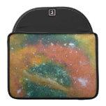 Nebulosa y planetas fundas para macbook pro