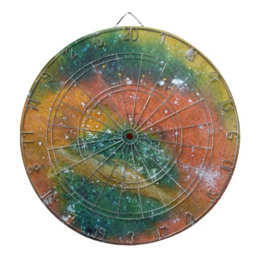Nebulosa y planetas tabla dardos