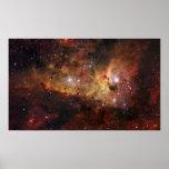 Nebulosas de Carina en la NASA del espacio