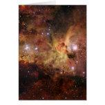 Nebulosas de Carina en la NASA del espacio Tarjetas
