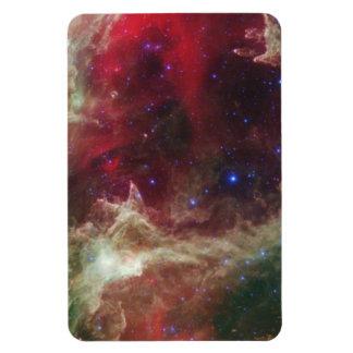 Nebulosas de la emisión de la nebulosa del alma en imán