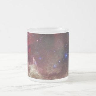 Nebulosas de la emisión de la nebulosa del alma en taza de café