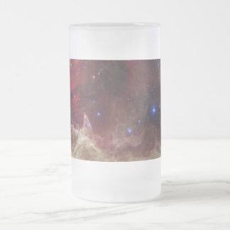 Nebulosas de la emisión de la nebulosa del alma en tazas