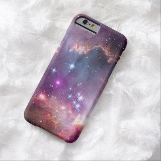 Nebulosas galácticas de la púrpura del espacio funda barely there iPhone 6