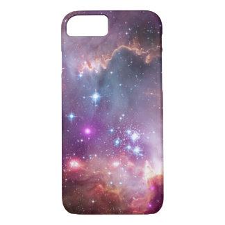Nebulosas galácticas de la púrpura del espacio funda iPhone 7
