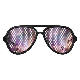 Nebulosas galácticas de la púrpura del espacio lentes de fiesta
