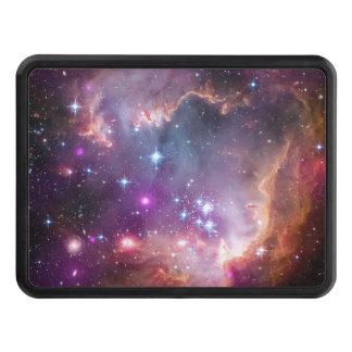 Nebulosas galácticas de la púrpura del espacio tapa de remolque
