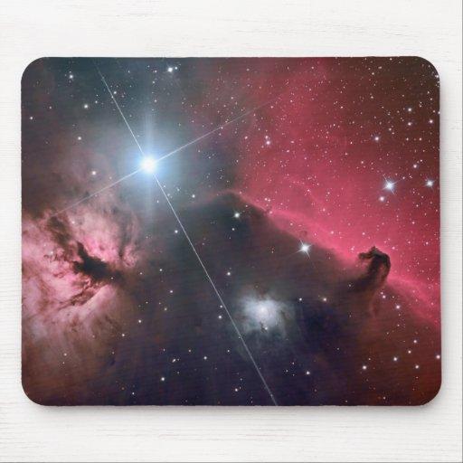 Nebulosas Mousepad de la cabeza de caballo
