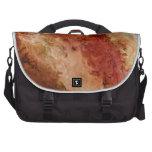 Nebulosas rojas bolsas para portátil