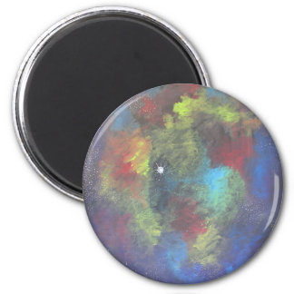 Nebulous Dream 2 Inch Round Magnet