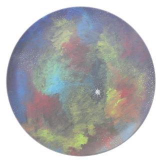Nebulous Dream Melamine Plate
