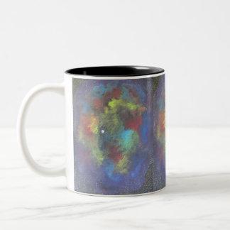 Nebulous Dream Two-Tone Coffee Mug