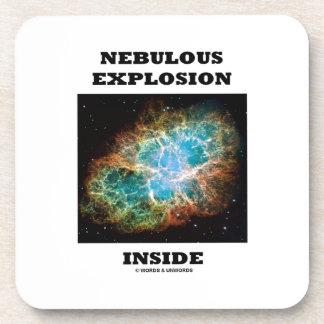 Nebulous Explosion Inside (Crab Nebula) Coaster