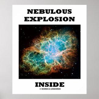 Nebulous Explosion Inside (Crab Nebula) Print