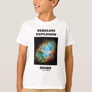 Nebulous Explosion Inside (Crab Nebula) T-Shirt