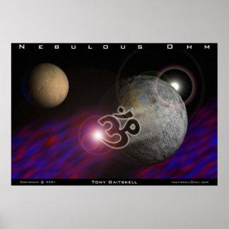 Nebulous Ohm Poster