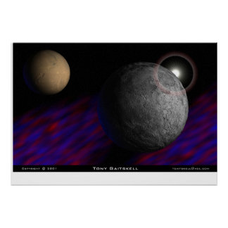 Nebulous Orbit Poster