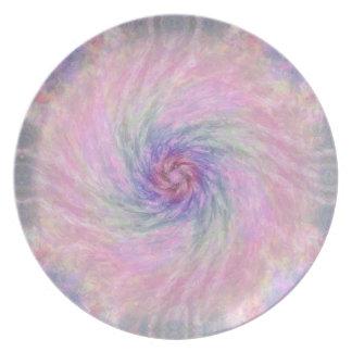 Nebulous Spiral 1  Plate