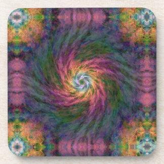 Nebulous Spiral 2  Cork Coaster Set