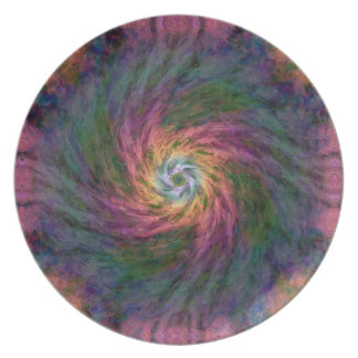 Nebulous Spiral 2  Plate