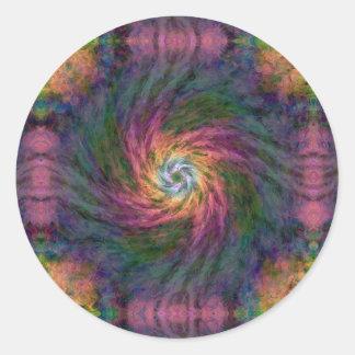 Nebulous Spiral 2  Stickers