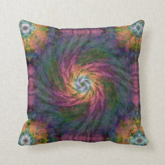 Nebulous Spiral 2  Throw Pillow