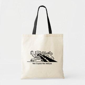 Nec Cupias Nec Metuas Tote Bag