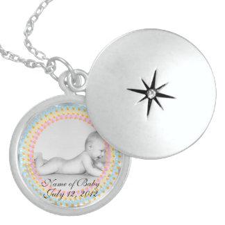 Nec del Locket de la plata esterlina del recuerdo  Medallones