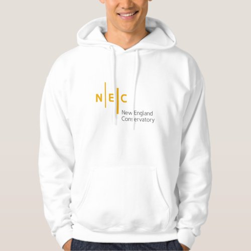 NEC Mens Basic Hooded Sweatshirt