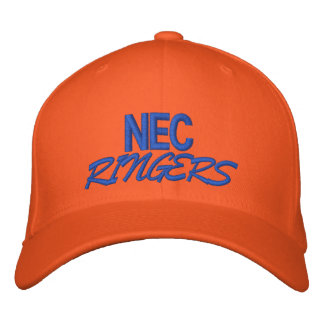 NEC, RINGERS EMBROIDERED HAT