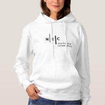NEC Women's Basic Hooded Sweatshirt