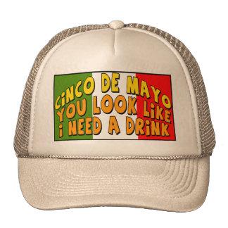 Necesidad de Cinco de Mayo camisetas y regalos de Gorro De Camionero