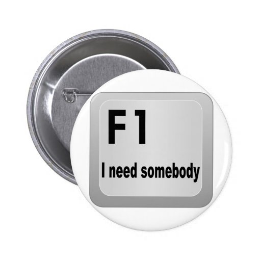 Necesidad de F1 I alguien Pins