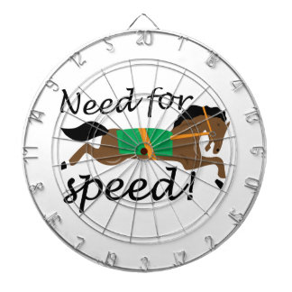 Necesidad de la velocidad tablero dardos