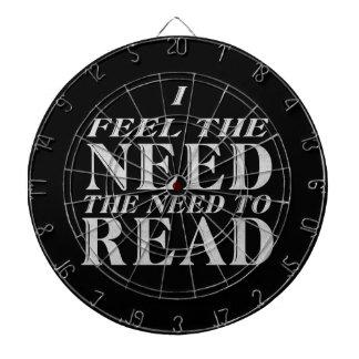 Necesidad de leer tablero dardos