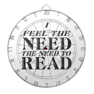 Necesidad de leer tabla dardos
