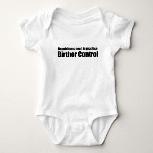 NECESIDAD de los REPUBLICANOS DE PRACTICAR BIRTHER Mameluco De Bebé