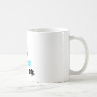 Necesidad de piar esto taza