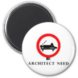 necesidad del arquitecto iman de nevera