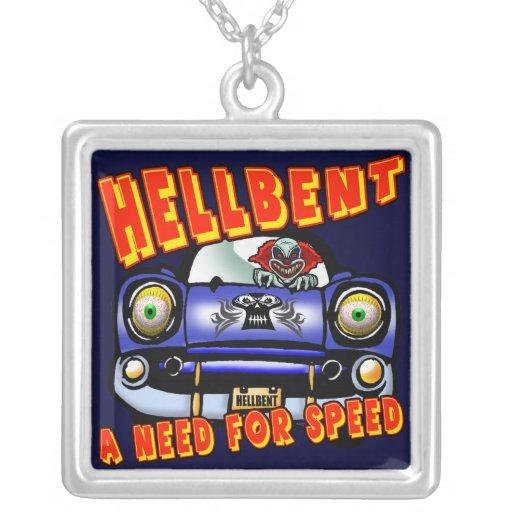 Necesidad del coche de la velocidad y del collar d
