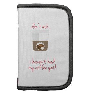 Necesidad por el café organizador