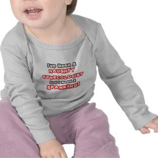 Necesidad traviesa del ginecólogo… un azote camisetas