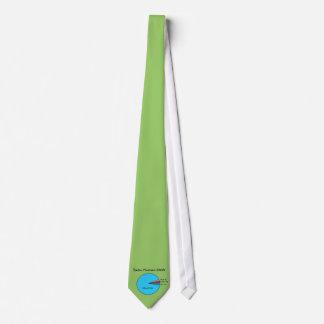 Necesidades básicas divertidas del ser humano de e corbata personalizada