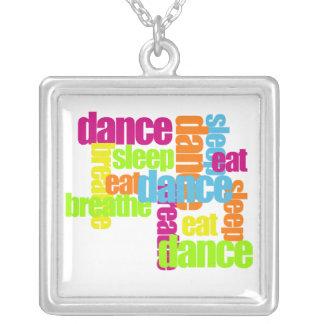 Necesidades de la danza colgante cuadrado
