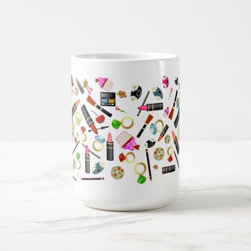 Necesidades femeninas tazas de café