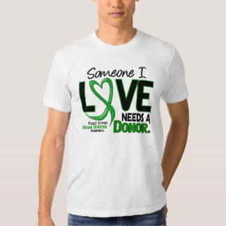 NECESITA las camisetas de una DONACIÓN DE ÓRGANOS Remera