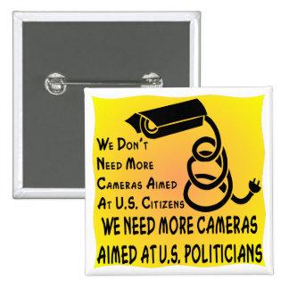 Necesitamos a más políticos dirigidos las cámaras  pins