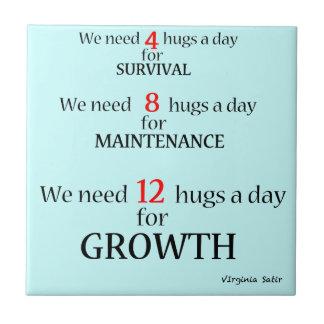 Necesitamos abrazos… teja