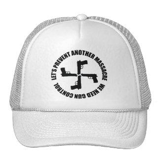 Necesitamos el control de armas gorras